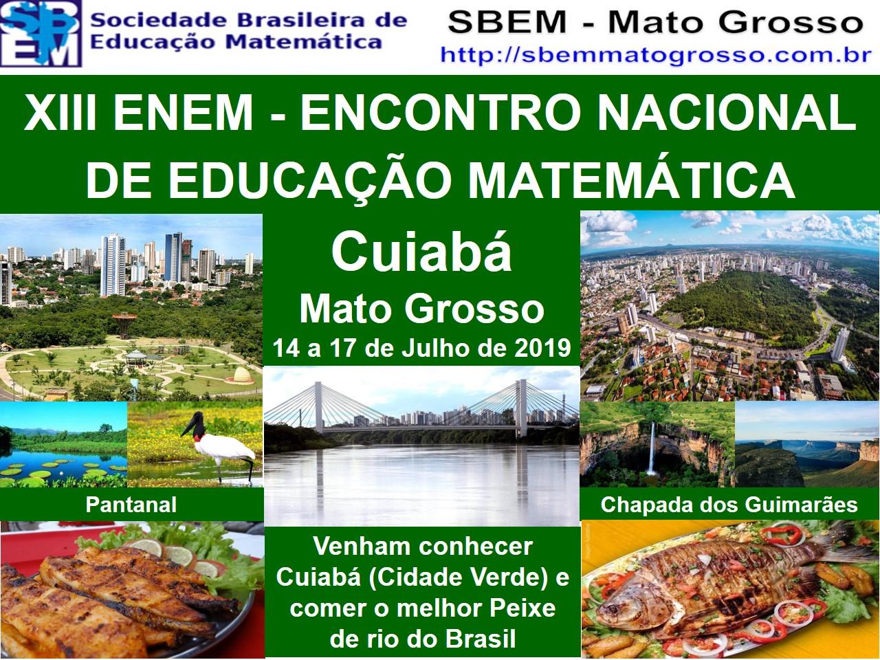 Nota informativa ENEM 2019 – Do litoral ao Pantanal Matogrossense